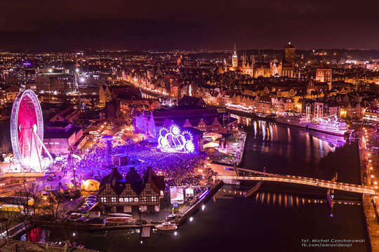 The annual Gdańsk Christmas Market