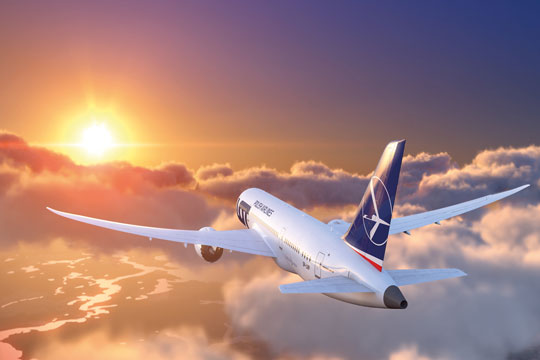 LOT Polish Airlines adds Warsaw flights from Washington Dulles