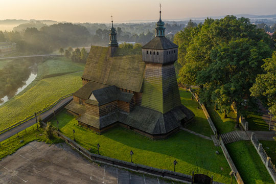Discover the Wooden Architecture Route of the Podkarpackie region
