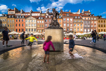 Warsaw for families