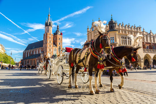 The New York Times lists Kraków as one of the 52 Places to Go in 2020