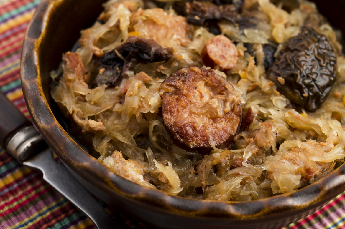 Bigos (a cabbage and meat dish)