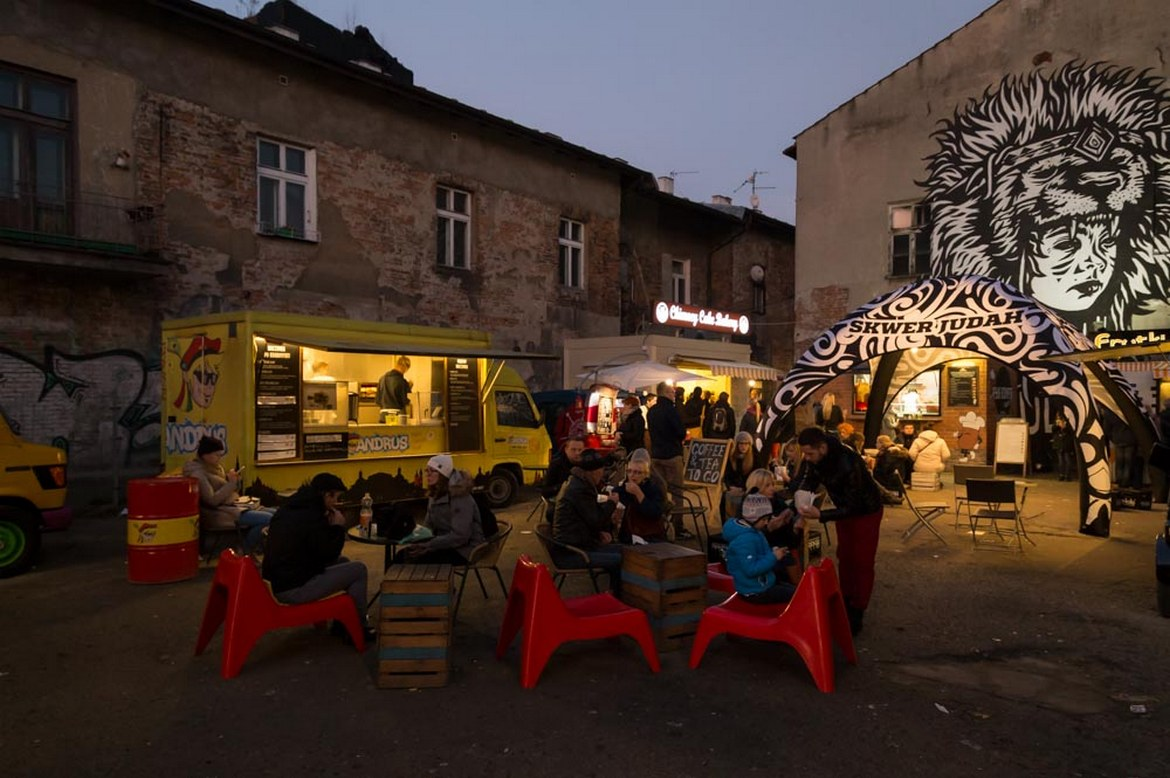 Food-truck in Cracow