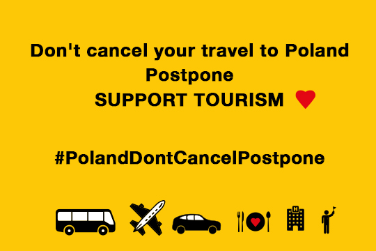 Don't Cancel, Change the Date. Support Tourism