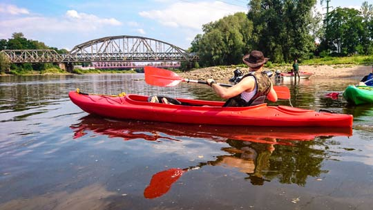 Kayaking in Poland