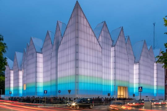 Modern architecture an attraction of Polish cities