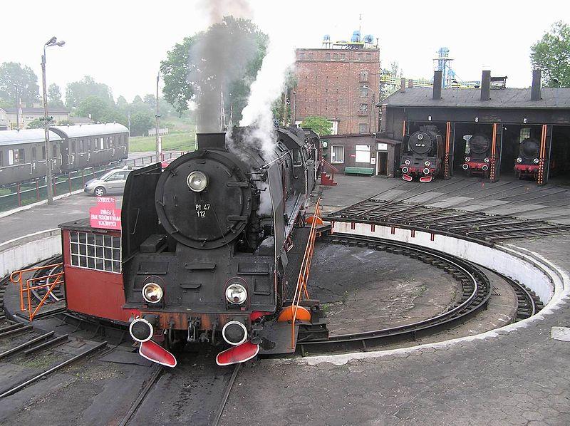 poland Steam Roundhouse in Wolsztyn